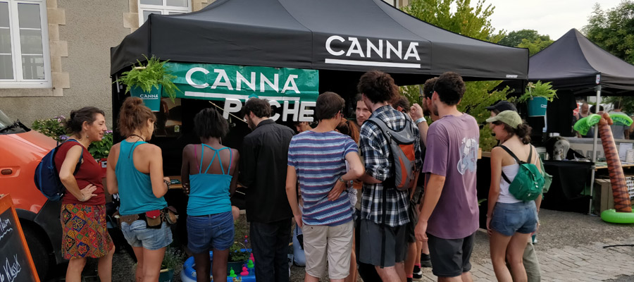 CANNA au Liquid Dub Festival 2018