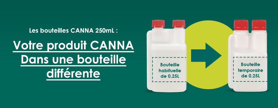 Votre produit CANNA dans une nouvelle bouteille