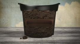 La fibre de coco et le tamponnage